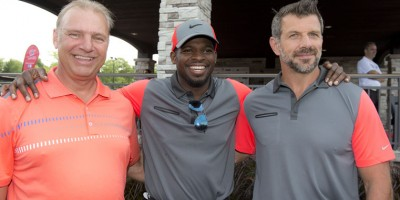 Michel Therrien, P.K. Subban et Marc Bergevin lors du tournoi de golf annuel de Michel Therrien au club Le Mirage, ˆ Terrebonne, le mardi 12 aožt 2014. CHANTAL POIRIER/JOURNAL DE MONTRƒAL/AGENCE QMI